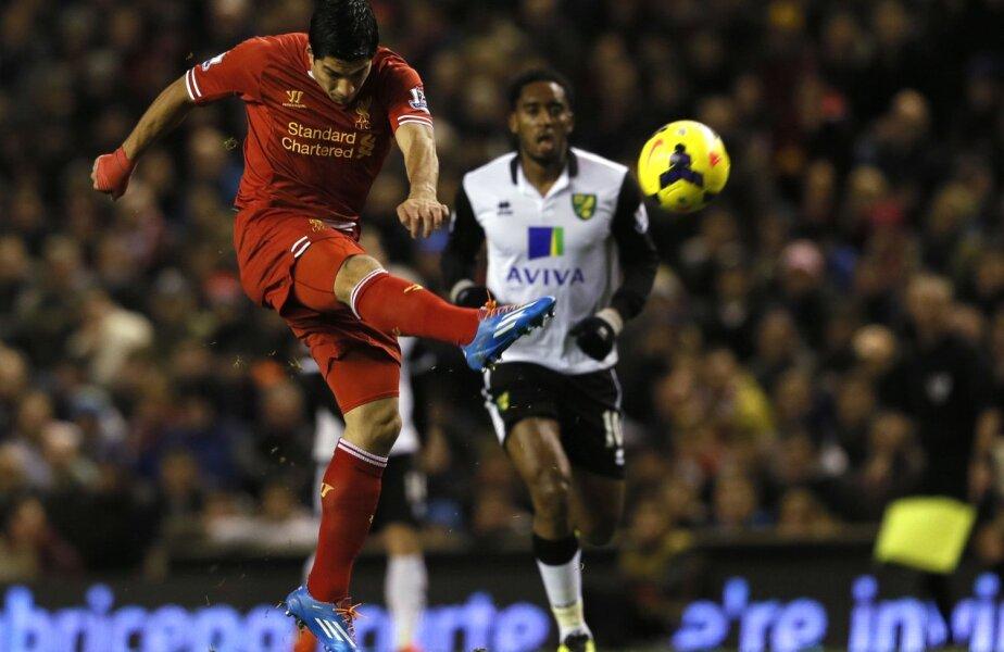Suarez, 26 de ani, din 2011 la Liverpool, mai are doi ani de contract pentru The Reds // Foto: Reuters