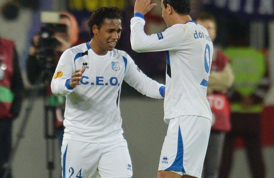 Eric și Alex au făcut spectacol în meciul cu U Cluj