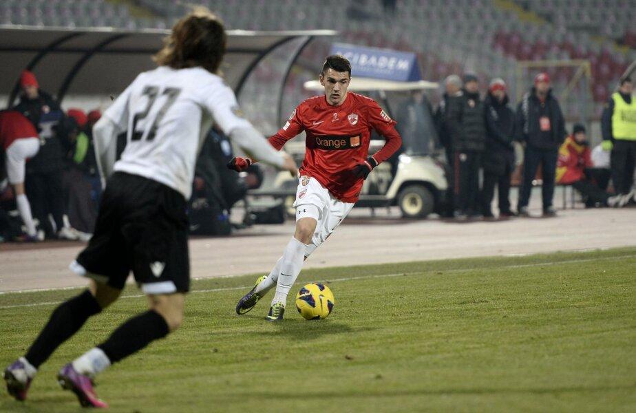 Buia şi-a fixat drept obiectiv să devină titular la Dinamo, în primăvară