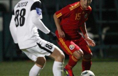 Adrian Mărkuş în tricoul naţionalei
