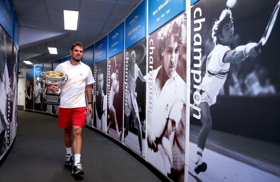 Stanislas a intrat în istoria turneului de la Antipozi alături de nume mari ale tenisului