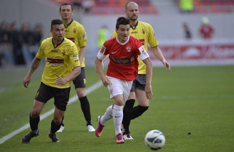 În tur, Dinamo și Ceahlăul au terminat 1-1
