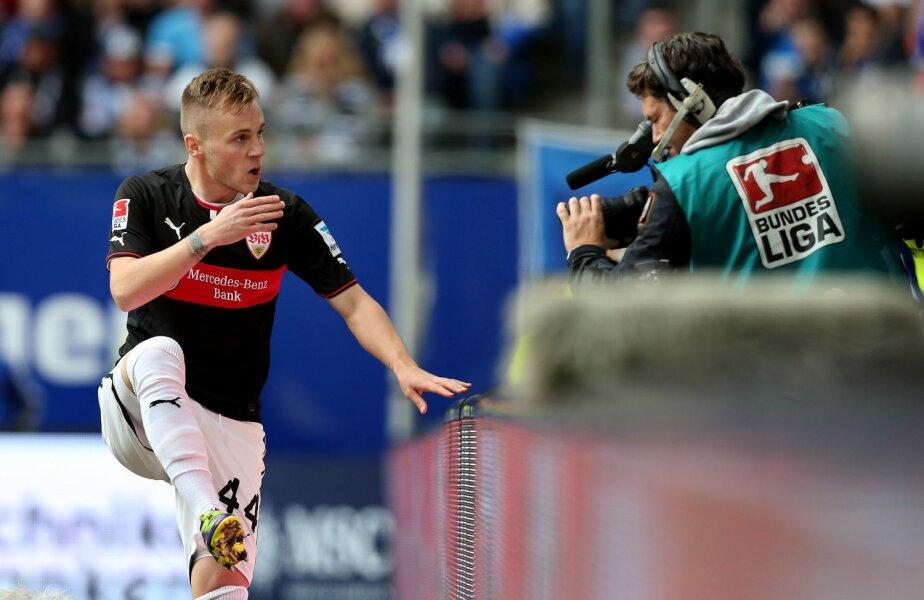 Maxim are 7 goluri și 12 pase decisive în acest sezon de Bundesliga