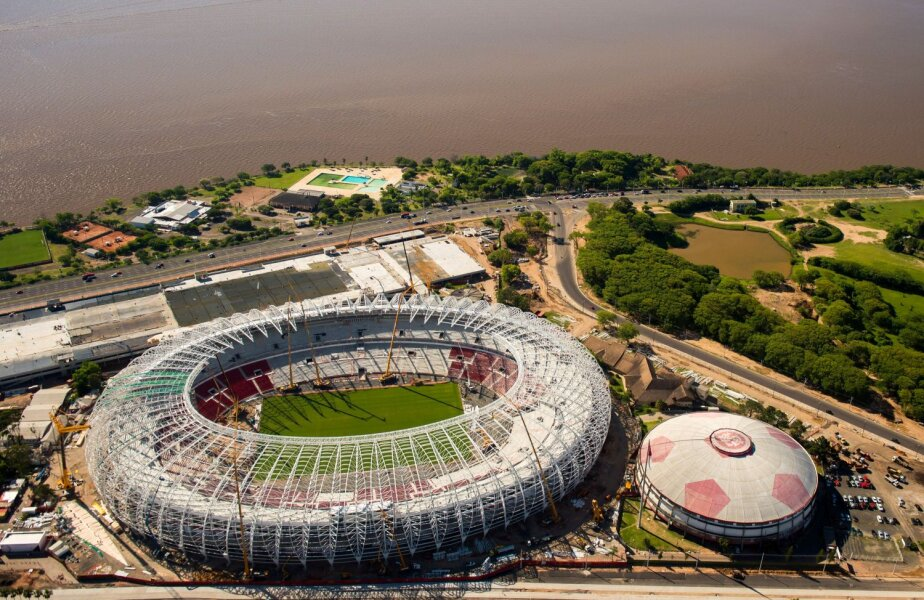 Beira-Rio, mîndria suporterilor lui Internacional Porto Alegre