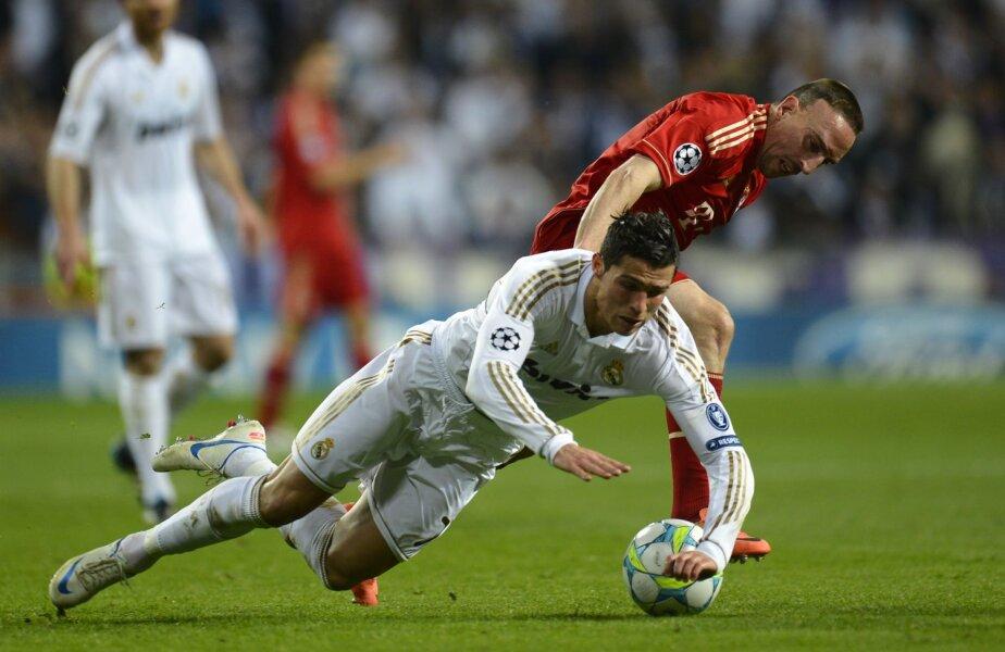 Duel Ronaldo - Ribery în semifinalele Ligii 2012. Atunci a cîștigat francezul