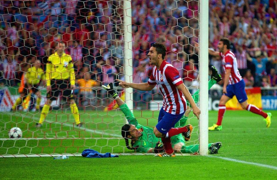 Pe 9 aprilie, Koke i-a făcut fericiţi pe fanii lui Atleti: gol la 1-0, învingînd şi eliminînd Barcelona în