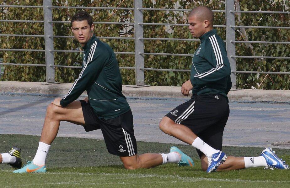 Ronaldo și Pepe, marile dureri de cap ale antrenorului Ancelotti