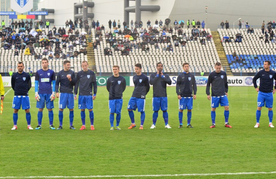 CSU Craiova este pe locul 2 în Seria B2, Bistrița pe locul al treilea, în timp ce Rapidul ocupă poziția a doua în B1