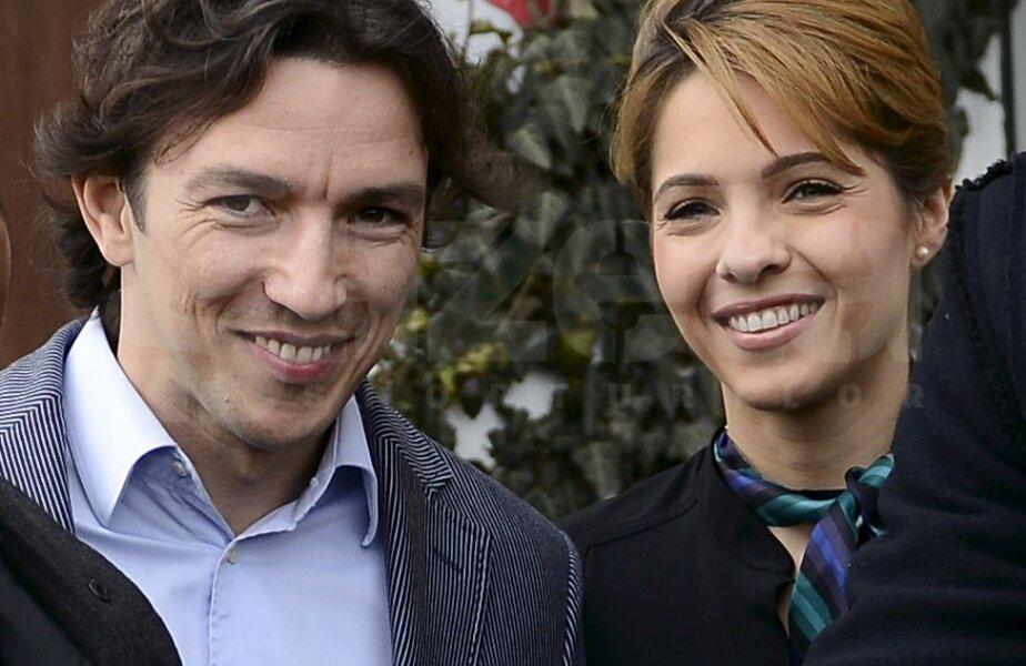 Andreea şi George Ogăraru, iniţiatorii proiectului