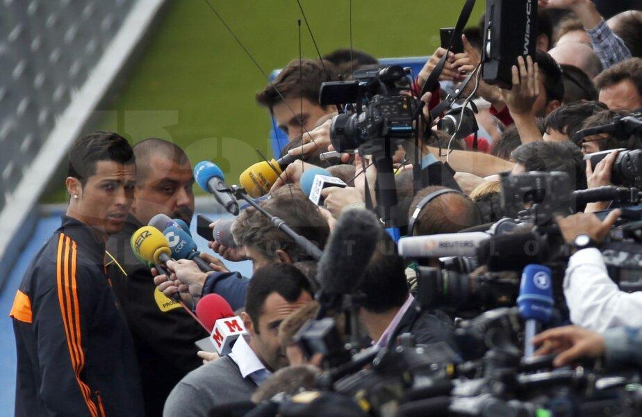 Ronaldo nu vrea să rateze prima sa finală a Ligii la Real Madrid // Foto: Reuters