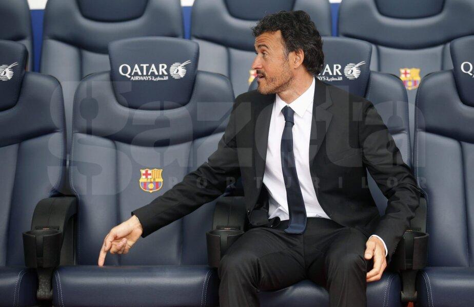 Luis Enrique a semnat un contract pe două sezoane cu Barca // Foto: Reuters