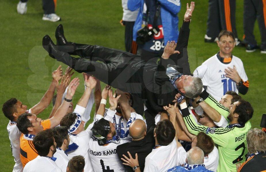 Carlo Ancelotti, antrenorul care a făcut Madridul să zboare spre La Decima // Foto: Reuters