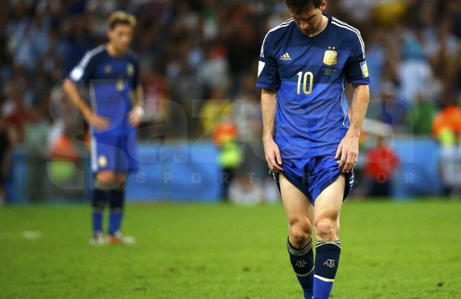 Leo, dărîmat psihic după finală // Foto: Reuters