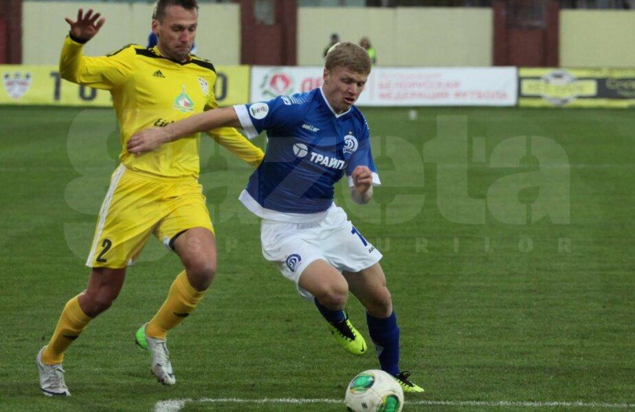 Korzun (în albastru) e marele talent al lui Dinamo: la 19 ani, are deja 26 de meciuri în prima ligă