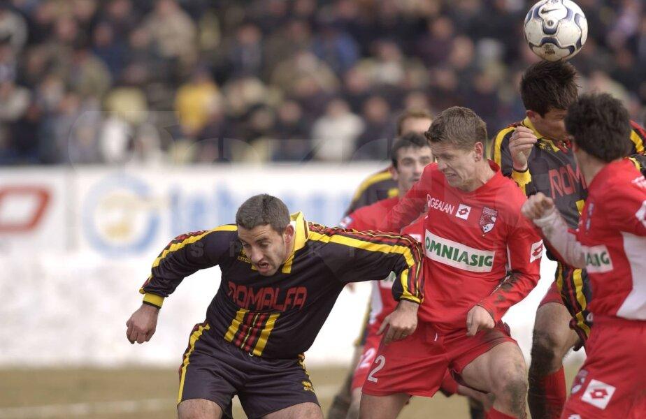 Stoican a jucat 90 de minute în meciul din martie 2003