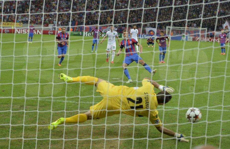 Moment critic: Chipciu ratează penalty-ul!