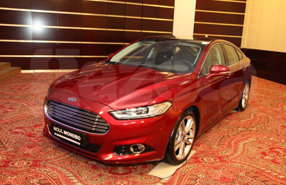 Noul Ford Mondeo, în versiunea de culoare
