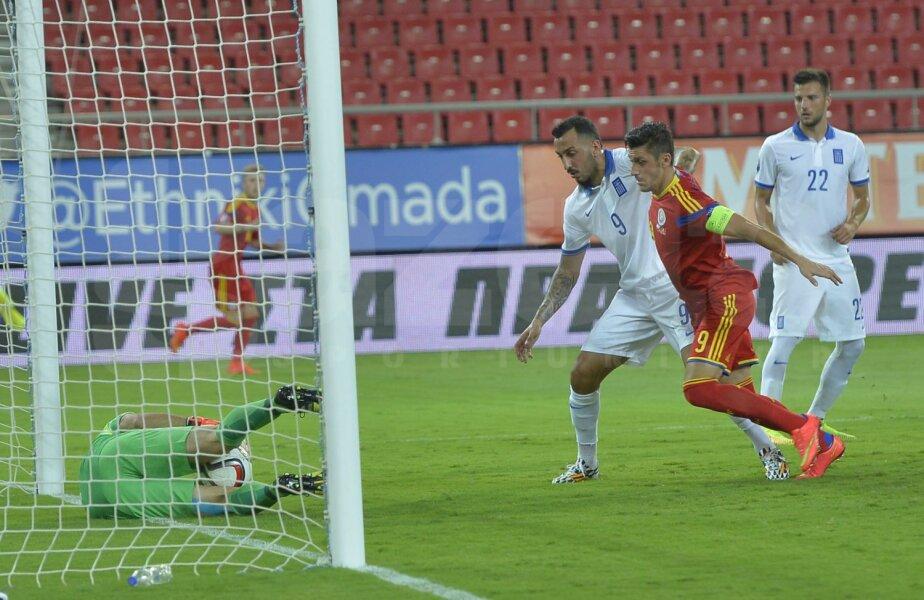 Marica a marcat unicul gol al partidei, pe urmă a fost eliminat