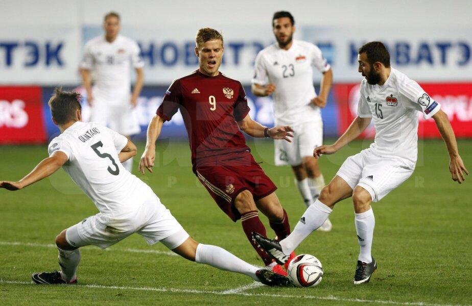 Kokorin e unul dintre jucătorii care ar putea evolua în noua echipă, Rusia 2018