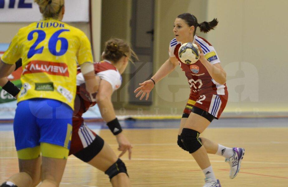Luciana Marin e una dintre jucătoarele de bază la Baia Mare // Foto: Bogdan Bălaş