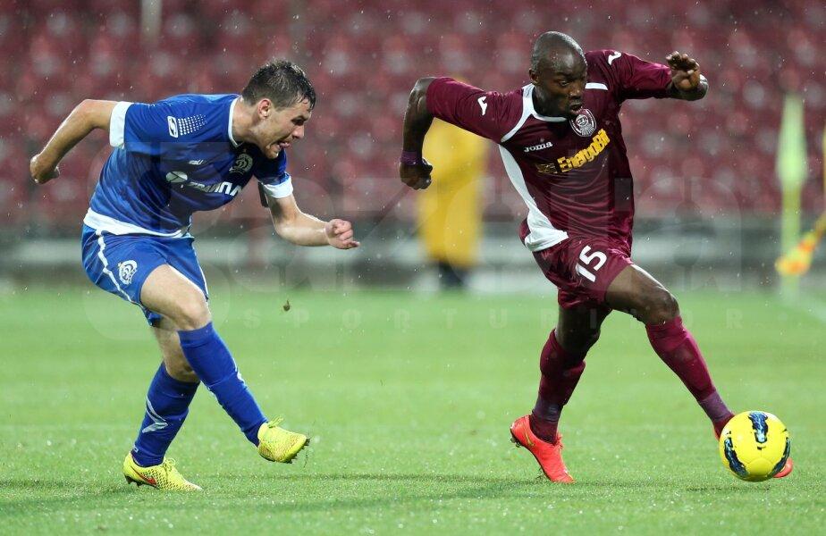 Tade a fost adus la Cluj de către Mircea Rednic, dar după doar 6 luni fusese pus pe lista de transferuri