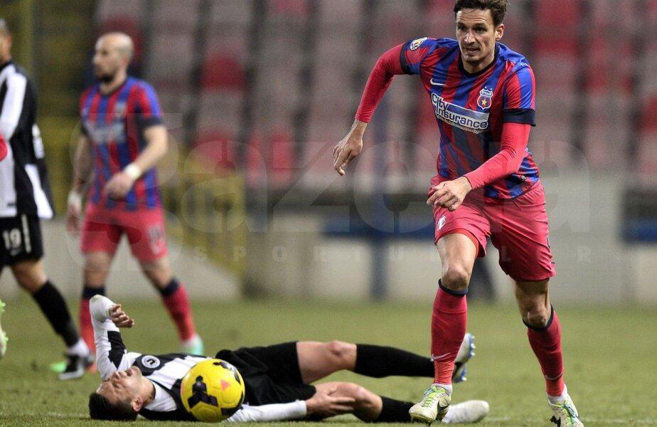 Evoluțiile bune de la Steaua l-au propulsat pe Szukala în echipa națională a Poloniei, unde a strîns 7 selecții în ultimul an