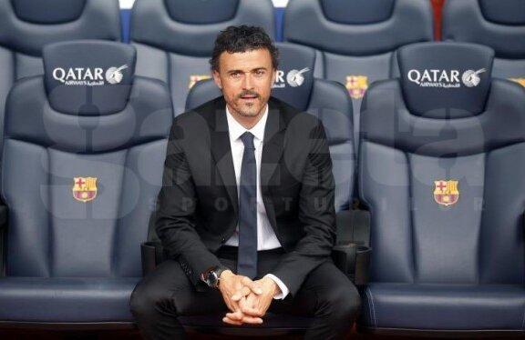 Luis Enrique vrea să instaureze disciplina la Barcelona