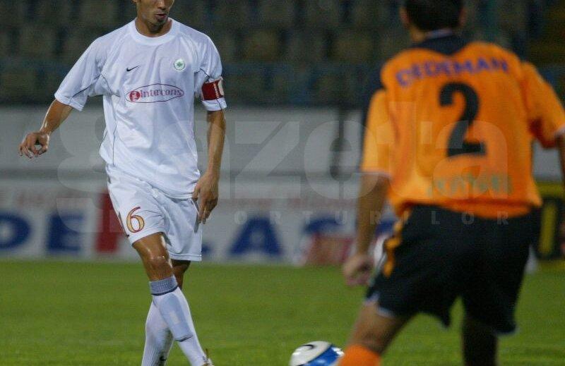 Ovidiu Herea în tricoul lui FC Național