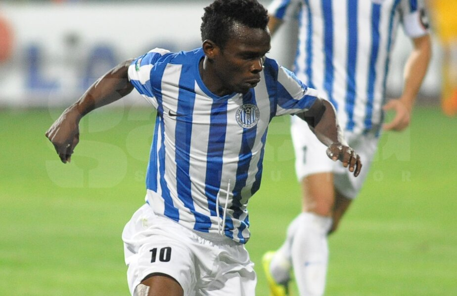 Onduku are patru goluri marcate în Liga 1