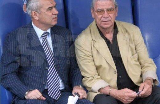 Anghel Iordănescu și Emeric Ienei