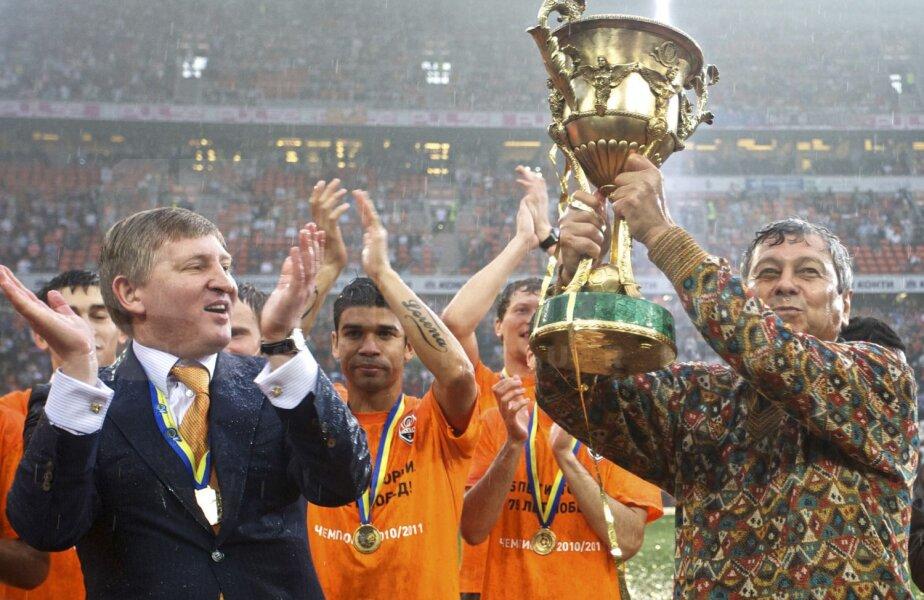 Lucescu și Ahmetov au colaborat excelent de-a lungul ultimilor 10 ani