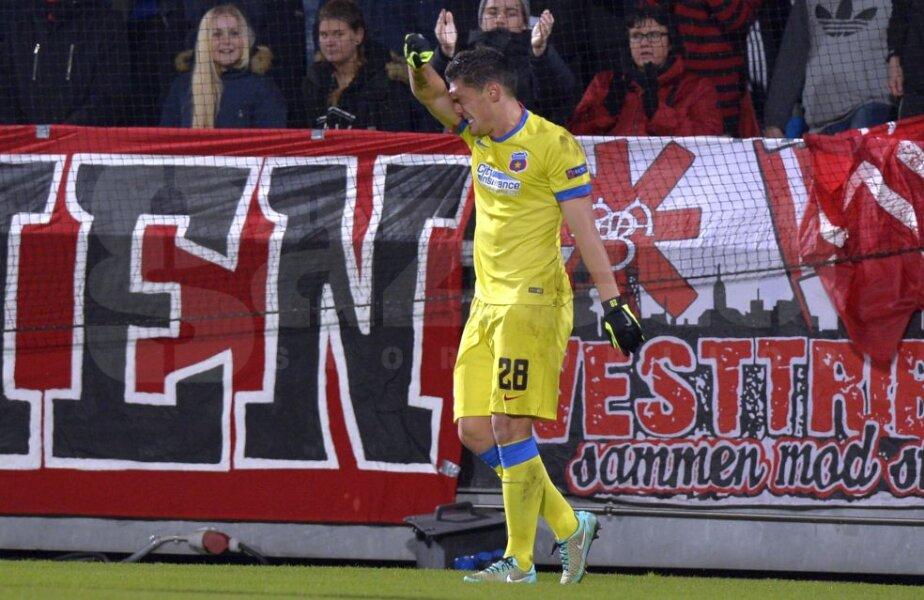 Claudiu Keșeru a avut un meci plin de ratări, foto: GSP