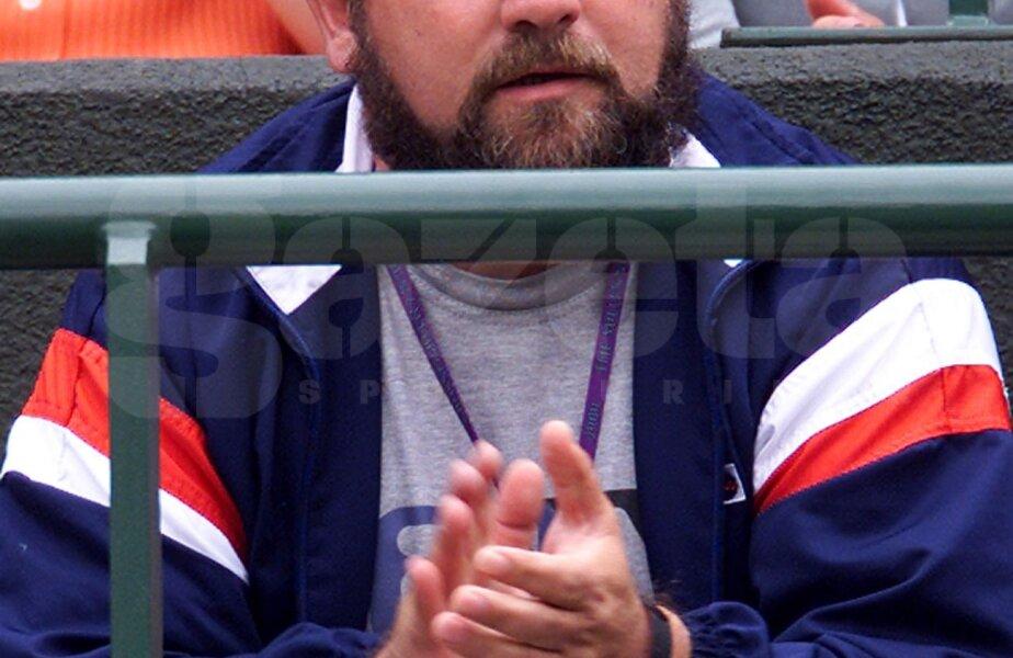 Damir Dokici, tatăl Jelenei, în 2000, cînd jucătoarea a atins cel mai bun loc al carierei, 4 // Foto: Reuters