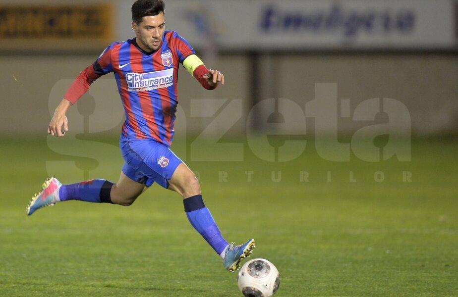 În 3 ani, Pîrvulescu a jucat 62 de meciuri pentru Steaua, în toate competițiile, reușind să înscrie două goluri