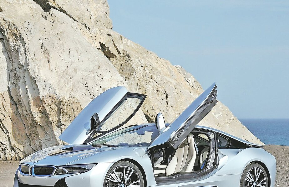 MAȘINA ANULUI 2014 TOPGEAR BMW i8