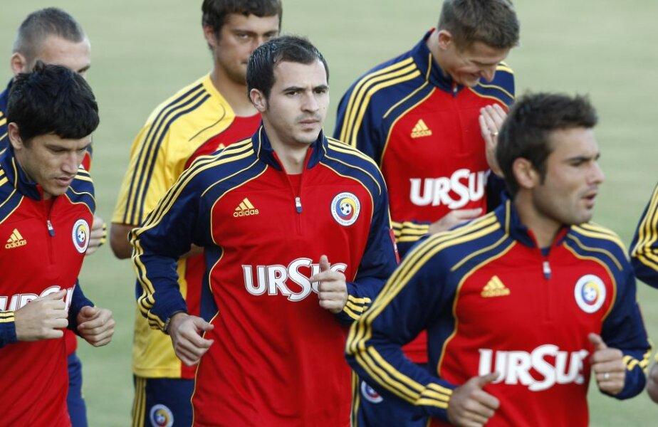 Cristi Tănase și Bogdan Stancu la echipa națională, foto: GSP