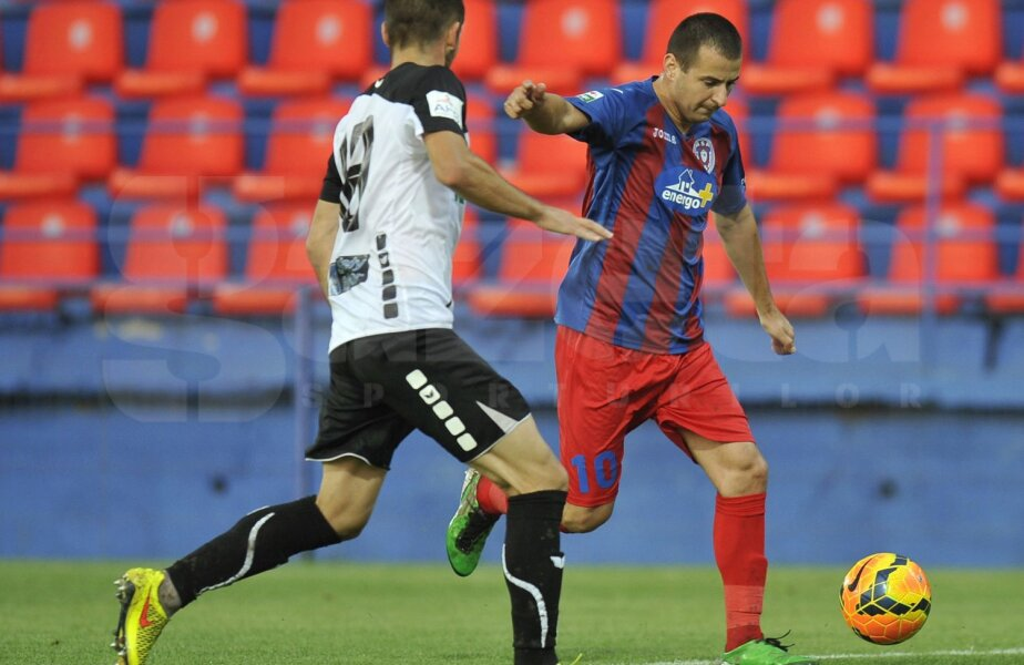 Zicu a făcut aseară cel mai bun meci al său din ultimul an, înscriind primul gol în