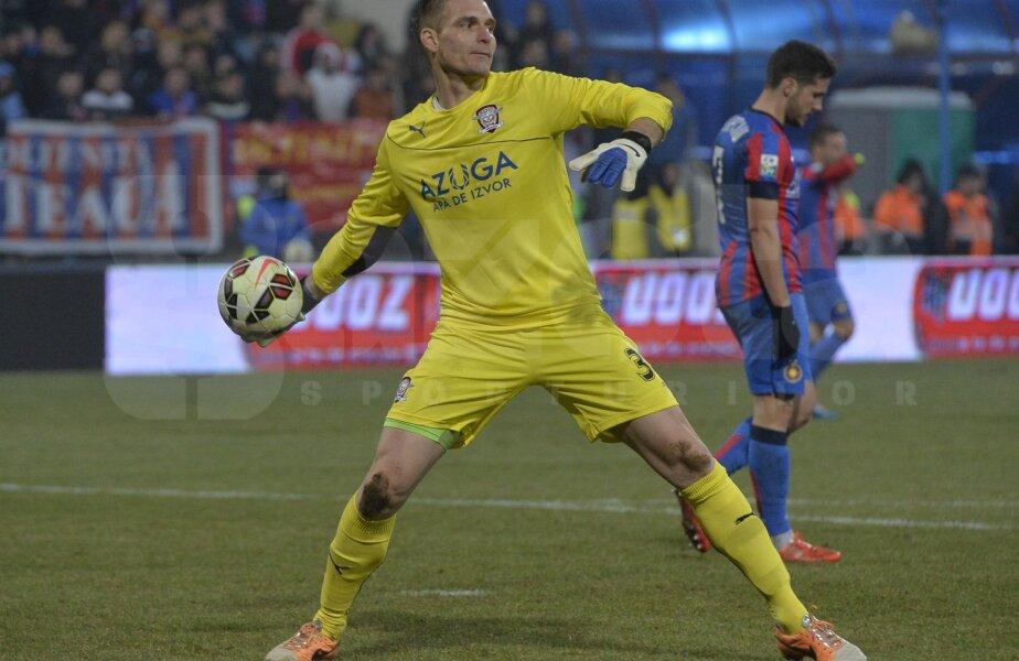 Buchta a jucat la Mediaș din iulie 2009 pînă în această iarnă, cînd a semnat cu Rapid. O jumătate de an, august - decembrie 2011, a fost împrumutat la Oțelul