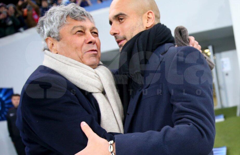 Lucescu și Pep sînt prieteni din perioada în care spaniolul o antrena pe Barca (2008-2012). Atunci s-au întîlnit de 5 ori, cu o victorie