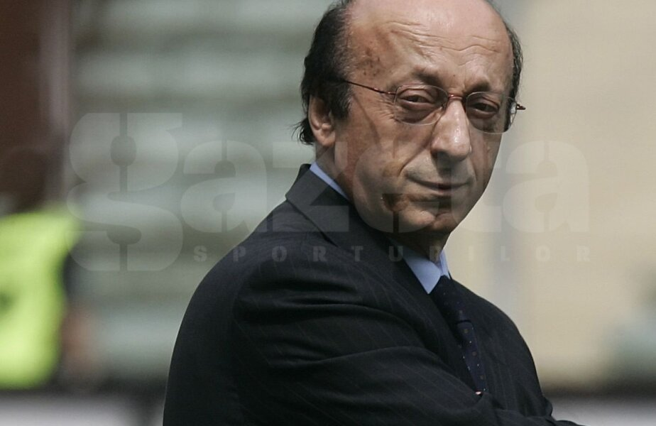Luciano Moggi a plătit doar în plan sportiv pentru Calciopoli, dar Juve nu-și mai poate recupera titlurile cucerite prin corupție // Foto: Reuters