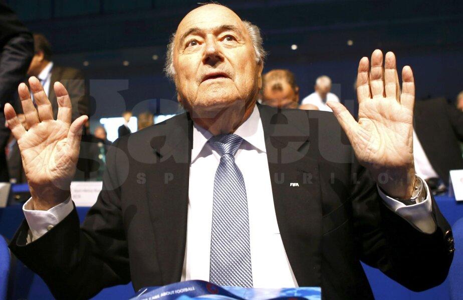 Aflat din 1998 la președinția FIFA, Sepp Blatter nu vrea să renunțe la putere // Foto: Reuters