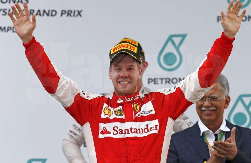 Vettel, Foto: Reuters