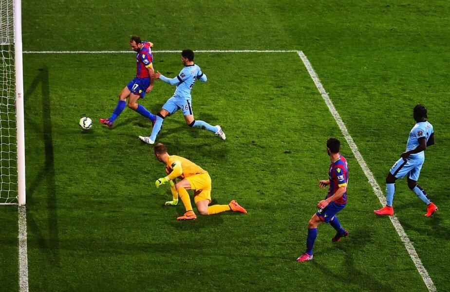 Primul gol, încasat în urma unui dublu ofsaid, a însemnat începutul sfîrșitului pentru City // Foto: Guliver/GettyImages
