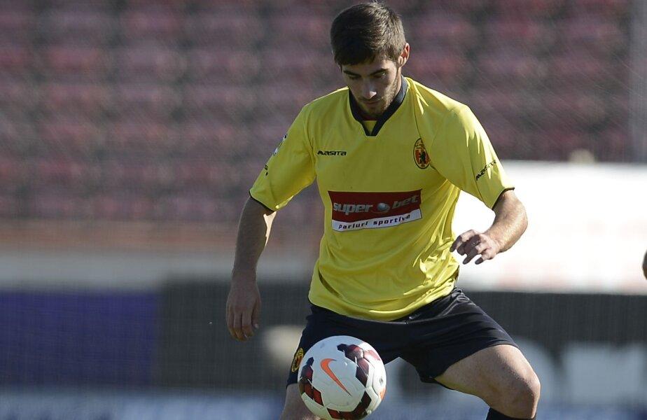 Popadiuc a marcat aseară pentru prima oară în actuala ediție de Liga 1. Mai are 3 reușite în Cupa României