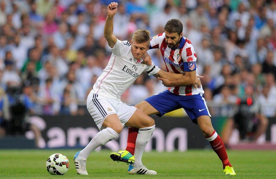 Duelul dintre Kroos și Koke (dreapta) va fi una dintre cheile de la mijloc ale derbyului madrilen //  Foto: Guliver/GettyImages