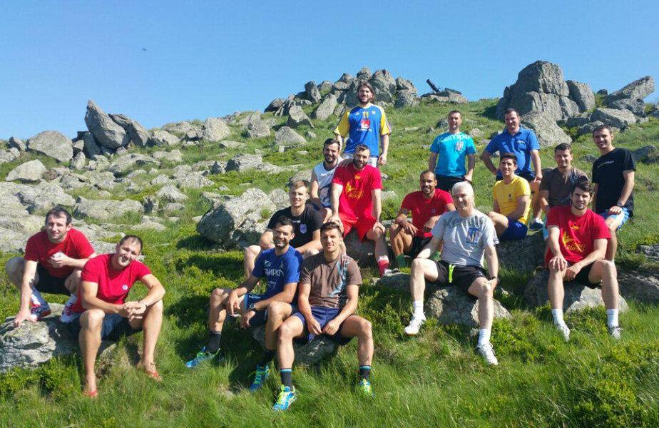 Jucătorii au avut parte de o privelişte aparte de pe munţii Semenic