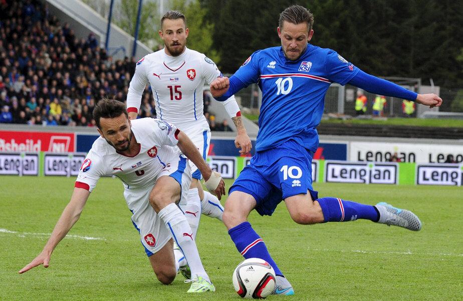 Gylfi Sigurdsson, decarul Islandei, joacă în Premier, la Swansea // Foto: Reuters