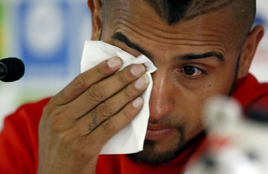 Vidal a plîns la conferinţă, dar cu lacrimi de crocodil. Nici colegii nu l-au crezut // Foto: Reuters
