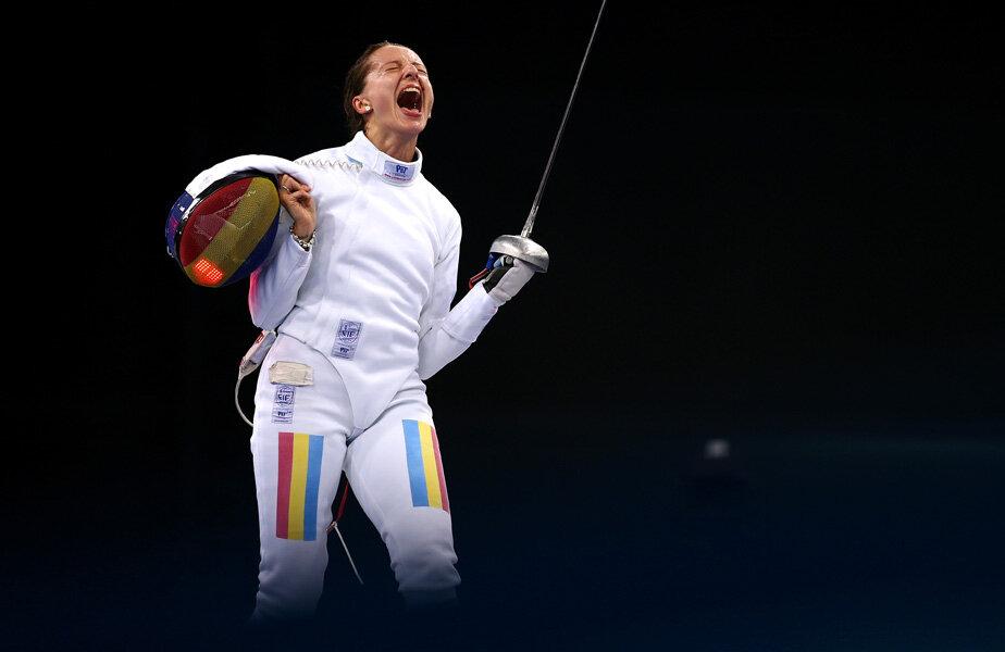 Ana și strigătul de fericire după încă un podium olimpic // Foto: Reuters