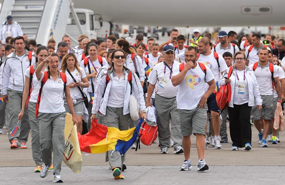 Delegația României de la Baku s-a întors ieri acasă. După o scurtă vacanță, sportivii încep din nou pregătirile cu gîndul la Rio // Foto: MediafaxFoto